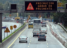 precaucion en carretera