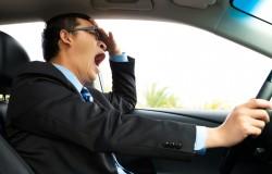 Conductores que se duermen al volante