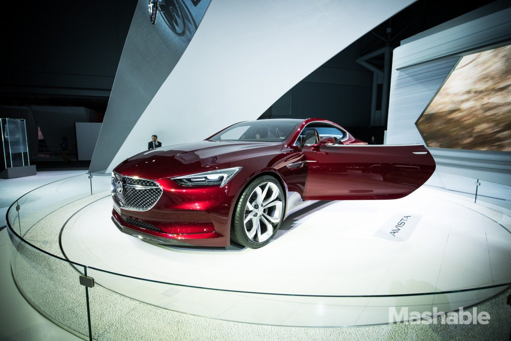 New York Auto Show 2016 Buick Avista
