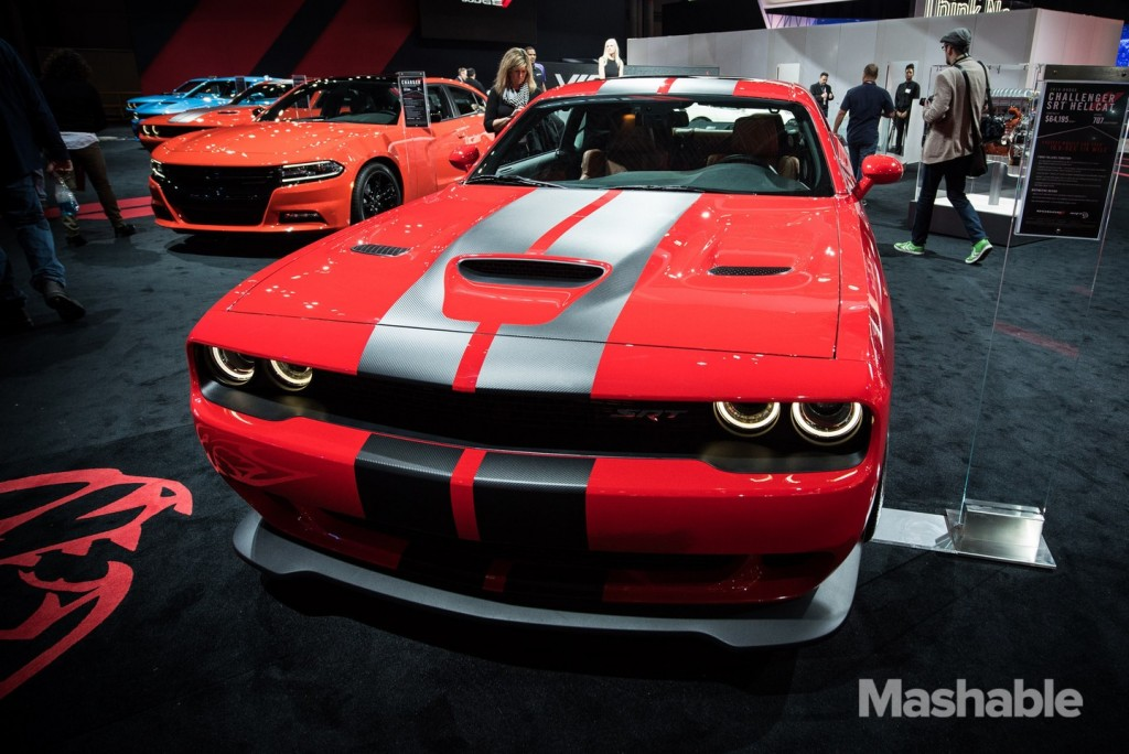 New York Auto Show 2016 Dodge Challenger SRT Hellcat