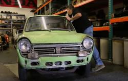 El primer Honda que ingresó a USA, será restaurado