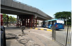 ATM habilita circulación de Metrovía por debajo de paso a desnivel frente a coliseo
