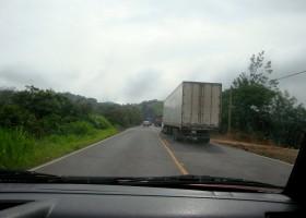 Camiones por adelantar