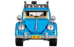 Mira el vídeo sobre un Volkswagen Beetle de Lego
