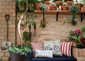 decoracion con plantas jardin