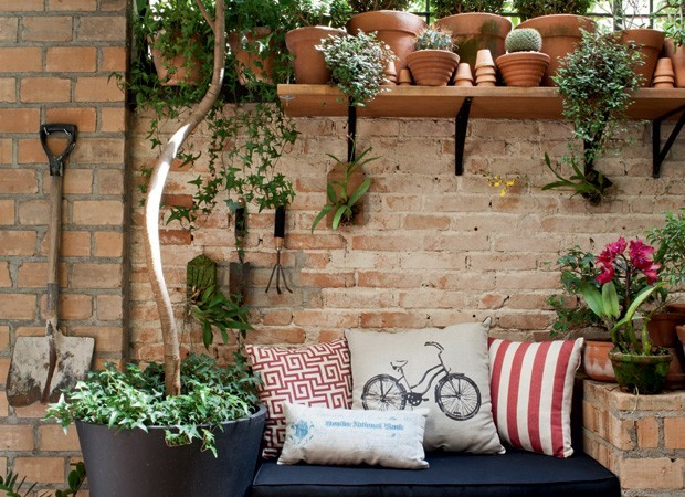 Ideas para decorar con plantas blog de bienes en full for Decoracion con plantas en living
