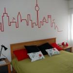 Usa cinta adhesiva para decorar tu casa