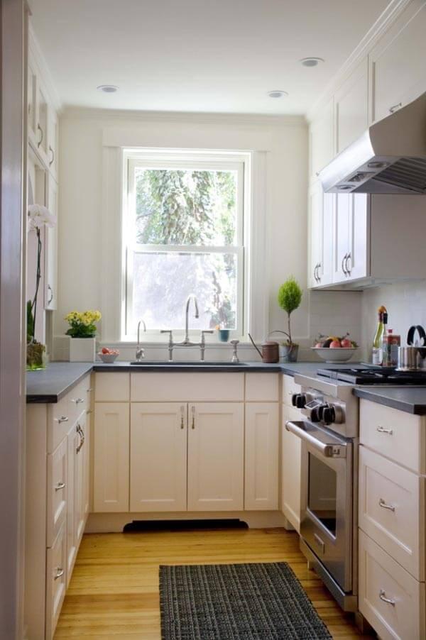 Aprovechar el espacio en una cocina pequeña - Blog de bienes ...