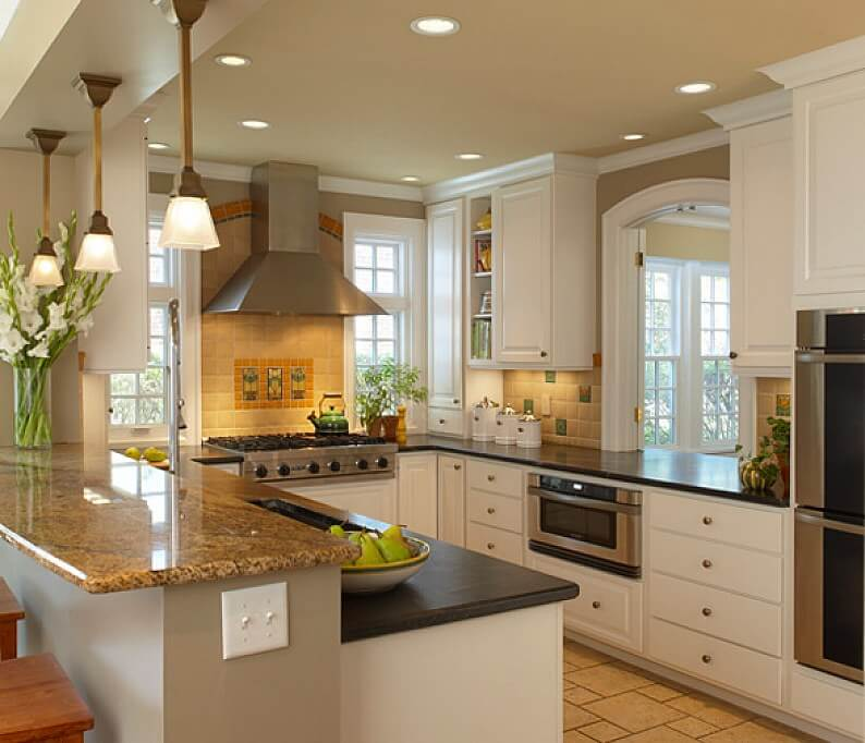 cocina decoracion espacio pequeno