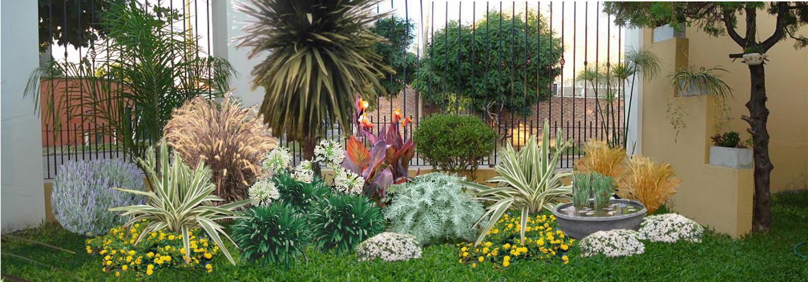 jardines colores escogidos