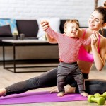 Trucos para ser una mamá fitness